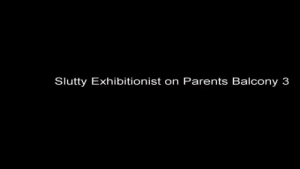 Exhibitionist parents sharing a teen