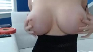 She can make this busty babe likes