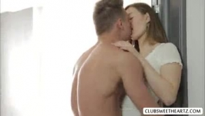 Laura Janson is making love with a smoking hot babe, in a massage room, in her bedroom